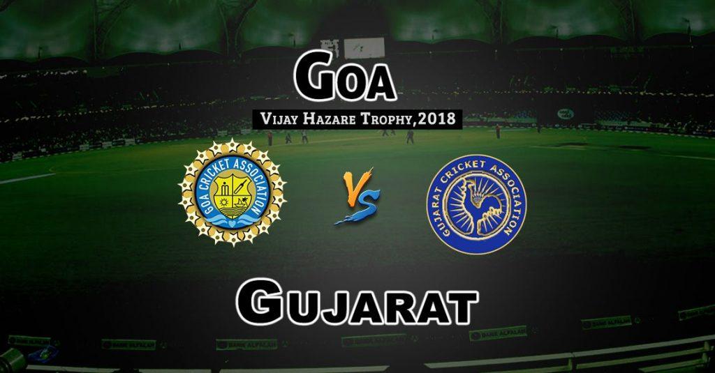 GOA vs GUJ Vijay Hazare Trophy Match Prediction-Fantasy Team News