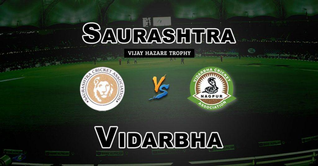 SAU vs VID Vijay Hazare Trophy Match Prediction-Fantasy Team News