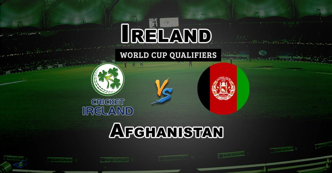 Ireland Vs Afghanistan: IRE Vs AFGH Super Sixes World Cup Qualifiers Dream 11