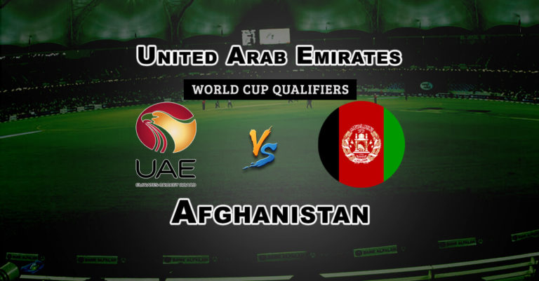 AFGH vs UAE Super Sixes World Cup Qualifiers Dream 11 Match Prediction Fantasy Team News