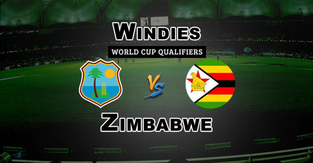 ZIM vs WI Super Sixes World Cup Qualifiers Dream 11 Match Prediction Fantasy Team News