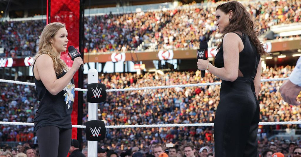 WWE Rumors: Ronda Rousey expected to show up on Monday Night Raw.