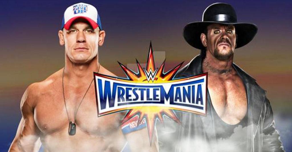 WWE LATEST: Cena challenges Undertaker for Wrestlemania 34 showdown