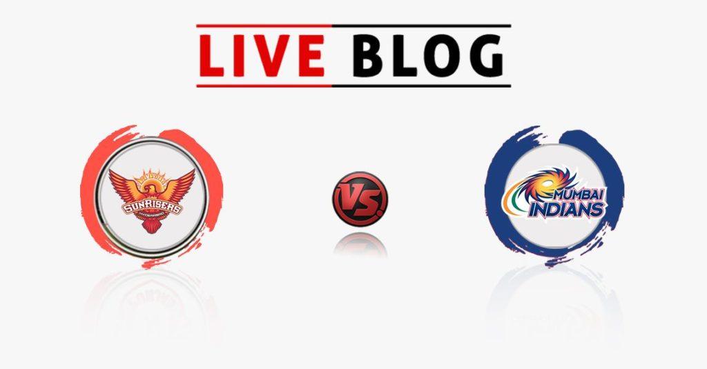 Sunrisers Hyderabad vs Mumbai Indians 7th Match IPL 2018 Live Commentary