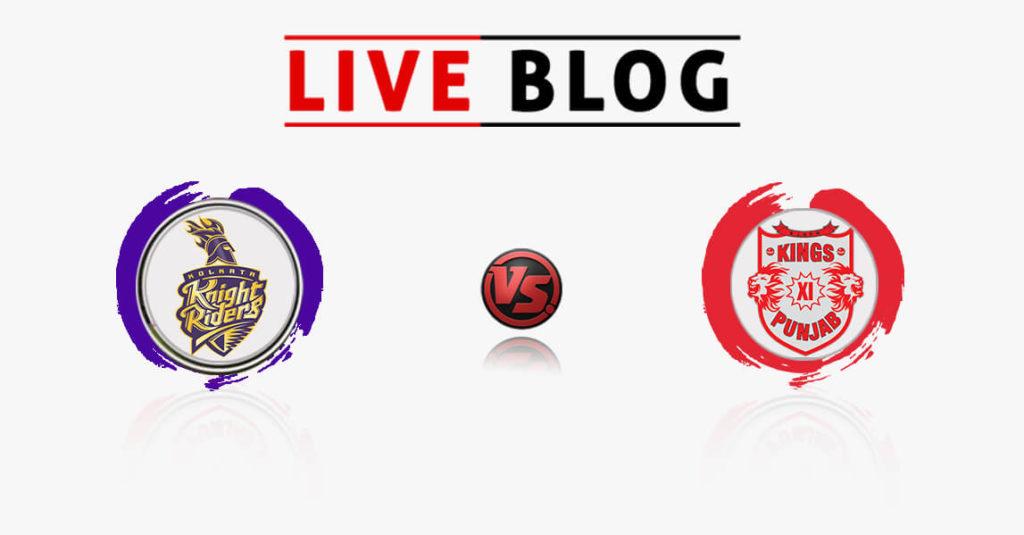 Kolkata Knight Riders vs Kings XI Punjab 18th Match IPL 2018 Live Commentary