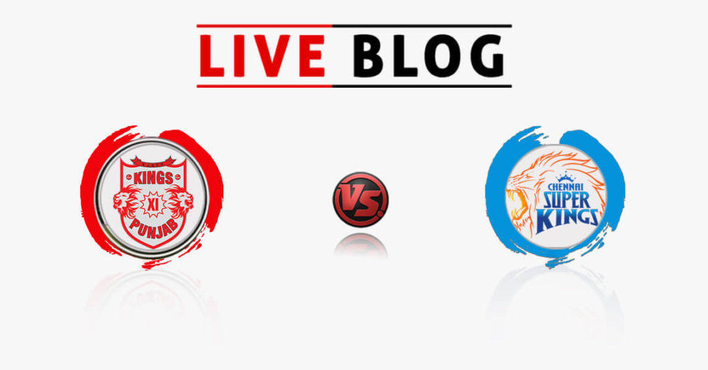 Kings XI Punjab vs Chennai Super Kings 12th Match IPL 2018 Live Commentary