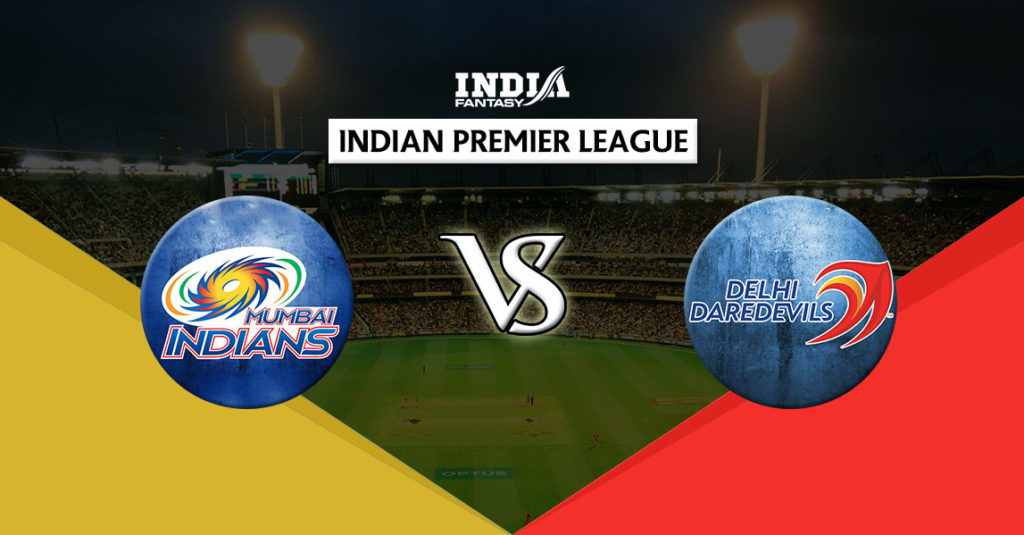 MUM vs DEL Dream11 IPL 9th Match T20 Prediction Fantasy Team News