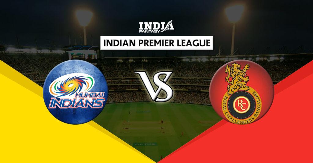 MUM vs BLR Dream11 IPL 14th Match T20 Predictions Fantasy Team News