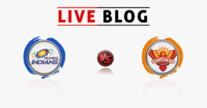 Mumbai Indians vs Sunrisers Hyderabad 23RD Match