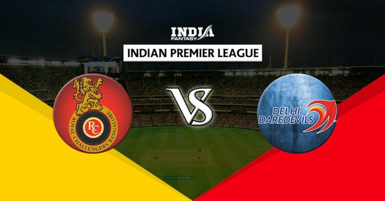 BLR vs DEL Dream11 Team Prediction IPL 2018 19th Match   RCB vs DD Playing 11