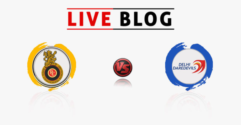 Royal Challengers Bangalore vs Delhi Daredevils 19th Match IPL 2018 Live Commentary