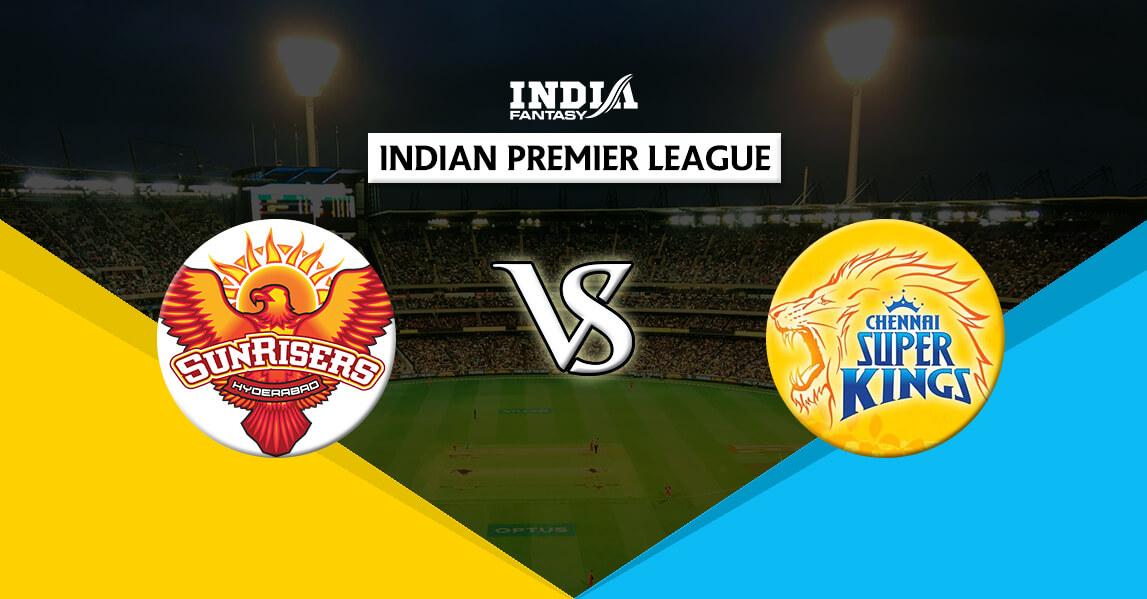 HYD vs CHE Dream11 Team Prediction IPL 2018 20th Match ...