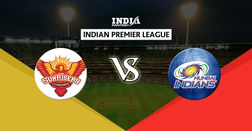 HYD vs MUM Dream11 IPL 7th Match T20 Predictions Fantasy Team News