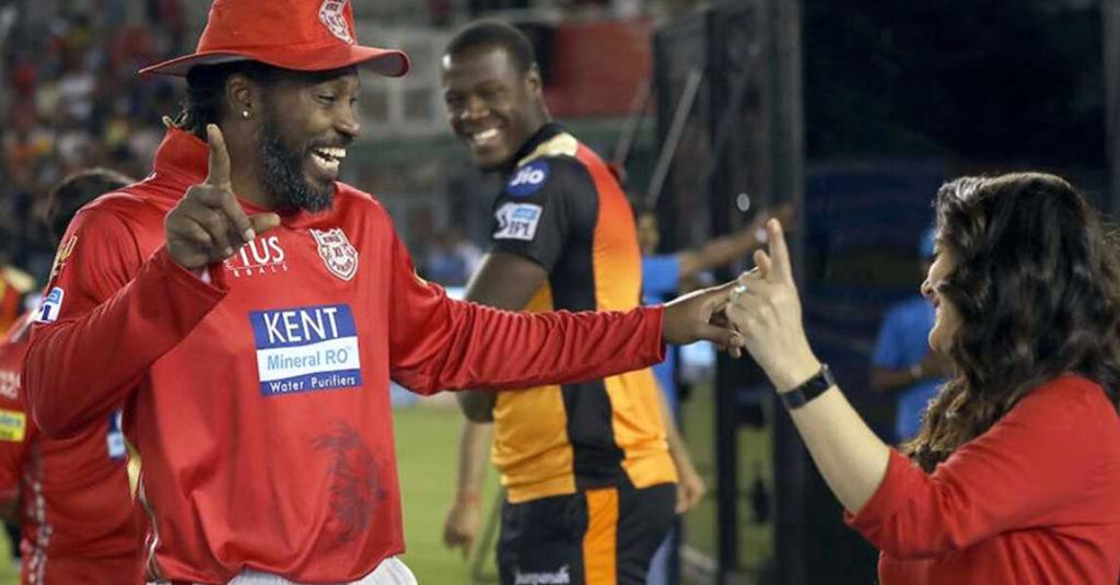 Chris Gayle thanks Sehwag for saving the IPL