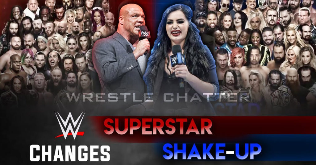 WWE Superstar Shakeup : RAW Results