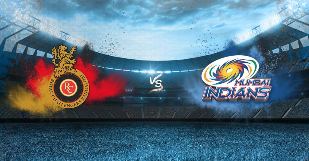 MUMBAI INDIANS VS ROYAL CHALLENGERS BANGALORE : MATCH PREVIEW, PROBABLE 11, LIVE STREAMING DETAILS