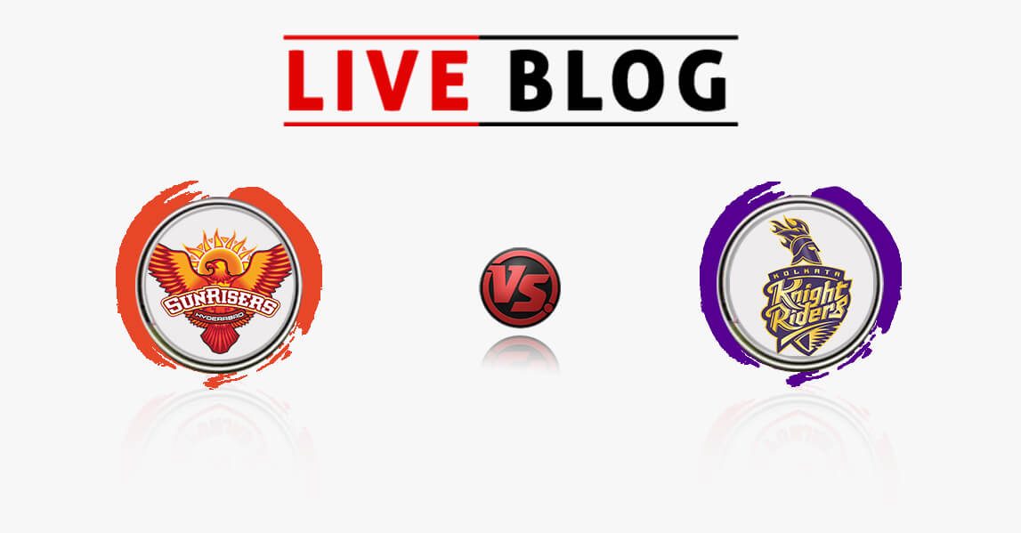 SRH vs KKR 54th match Live Commentry
