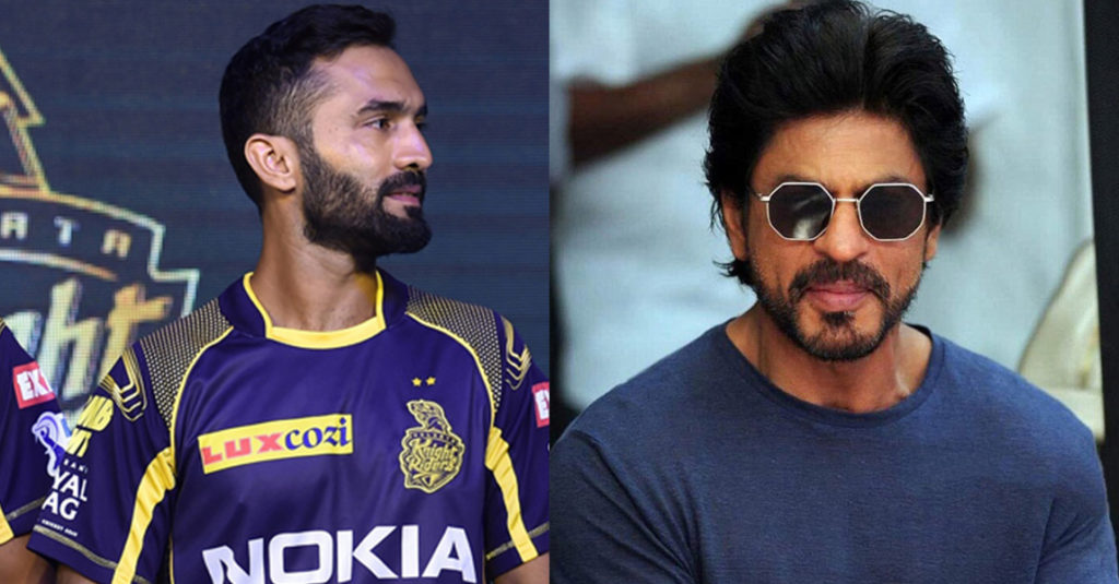 Here's how SRK congratulated his team after they won the eliminator