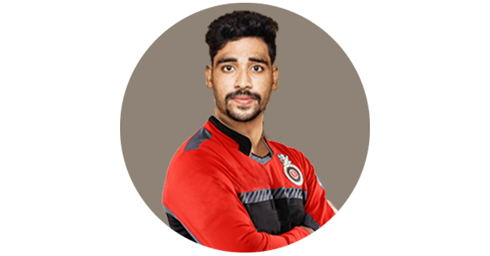 Mohammed Siraj Indian Cricketer Girlfriend Height Age Ipl Bowling Stats Ipl