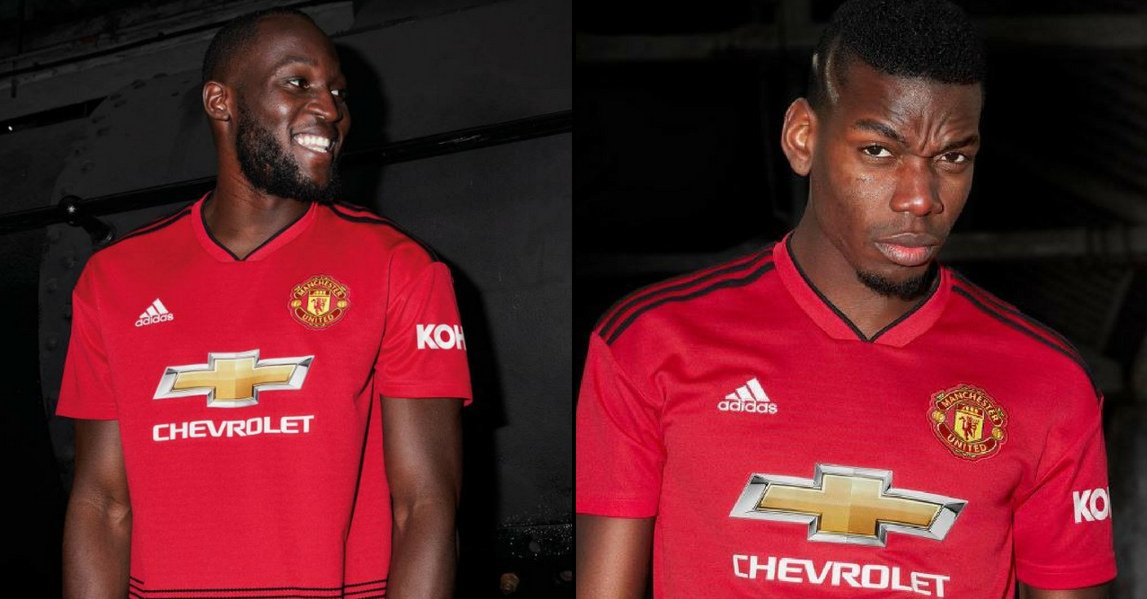 sale retailer d0436 10ba1 Manchester United release their new home kit for 2018/19 ...