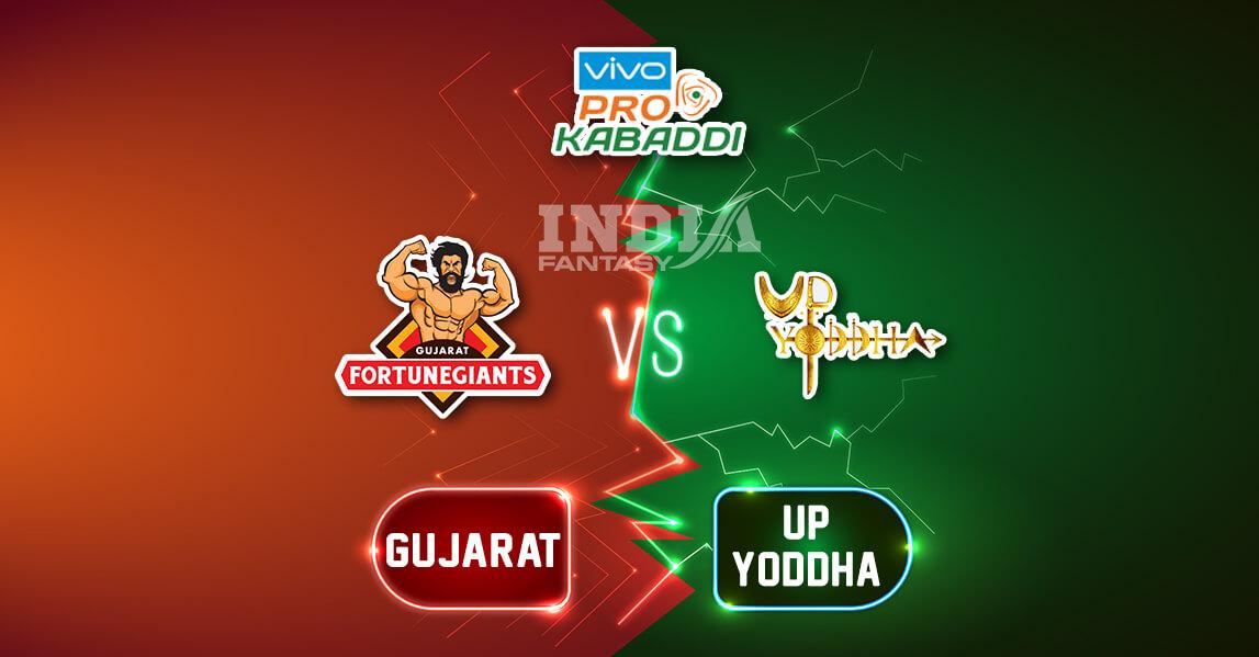 UP vs GUJ Dream11 Team Prediction Pro Kabaddi League, Preview, News