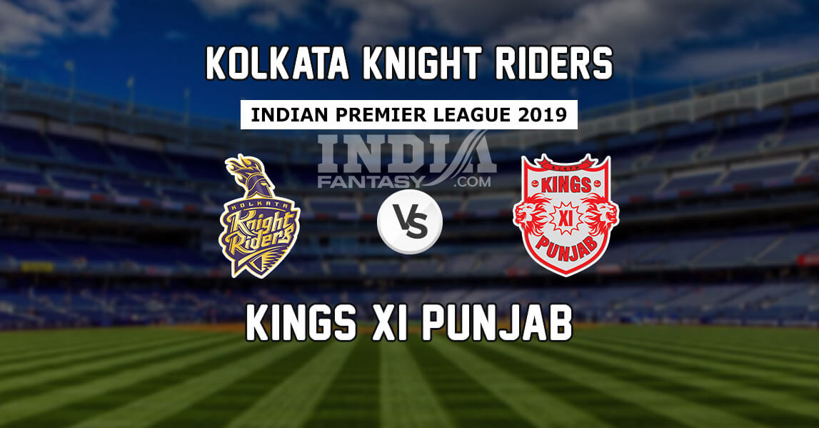 Kkr Vs Kxip Playerzpot Prediction Ipl Preview Team News Playing 11 India Fantasy