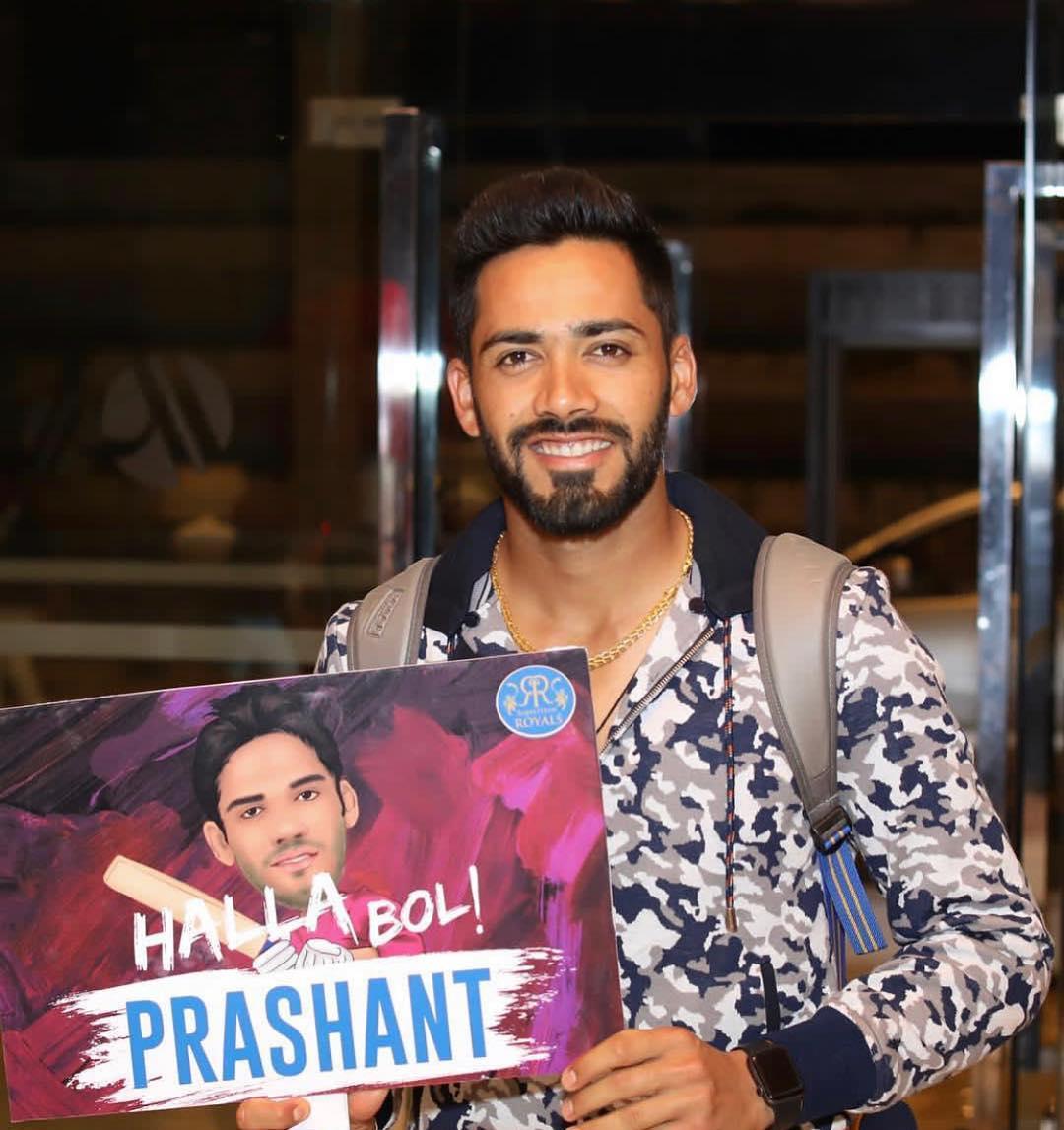 Image result for Prashant Chopra IPL 2020