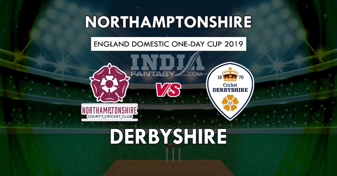 NOR vs DER Dream11 Prediction   Derbyshire vs Northamptonshire