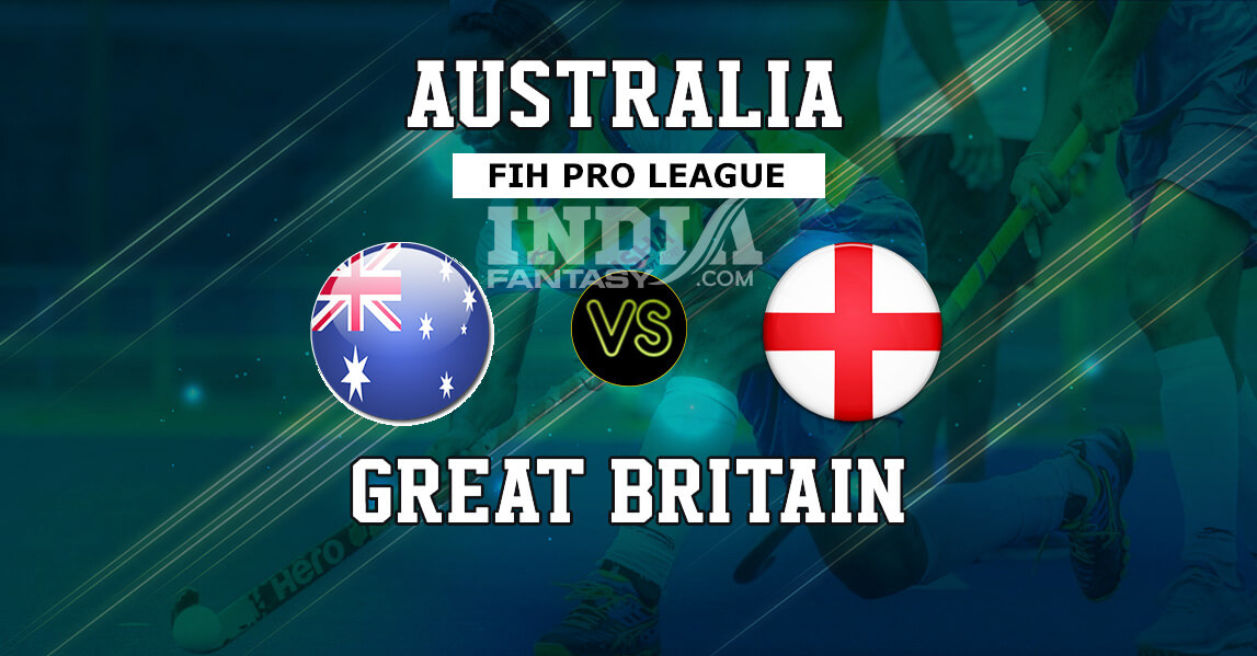 AUS vs ENG Dream11 Hockey Prediction| Men's Hockey FIH Pro