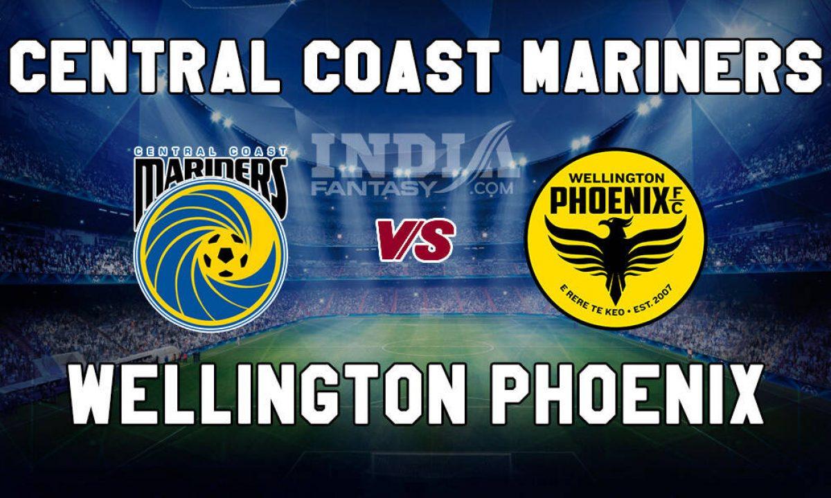 central coast mariners vs wellington phoenix betting experts