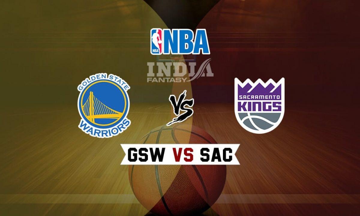 Gsw Vs Sac Dream11 Golden State Warriors Vs New Orleans Pelicans