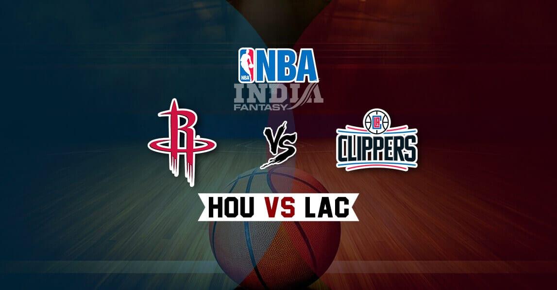 Lac Vs Hou Dream11 Match Los Angeles Clippers Vs Houston