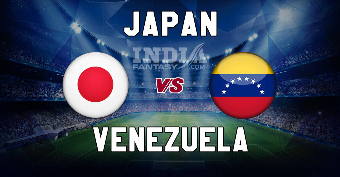 Japan vs Venezuela International Friendly Today Live Football Soccer 19 NOVEMBER 2019