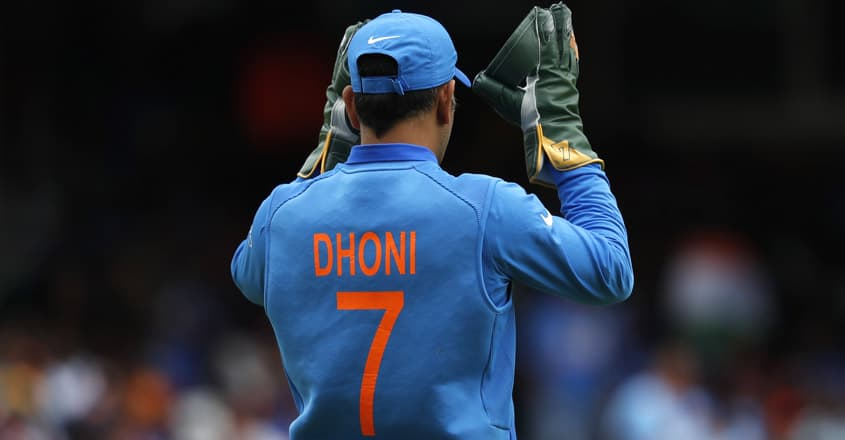 Heartwarming gesture from Pakistan fan, sports MS Dhoni jersey ...